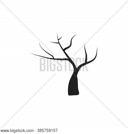 Black Web Isolated On A White Background. Concept Of Halloween. Black Web Isolated On A White Backgr