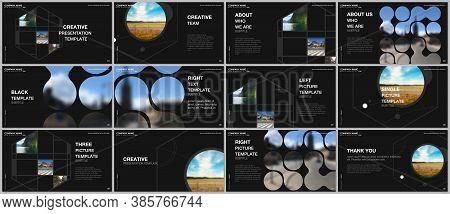 Presentation Vector Templates, Multipurpose Template For Presentation Slide, Flyer, Brochure Cover D