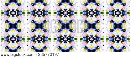 Aztec Rugs. Abstract Shibori Design. Repeat Tie Dye Illustration. Ikat Indonesian Design. Pastel Blu