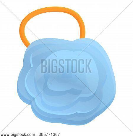 Body Washcloth Icon. Cartoon Of Body Washcloth Vector Icon For Web Design Isolated On White Backgrou