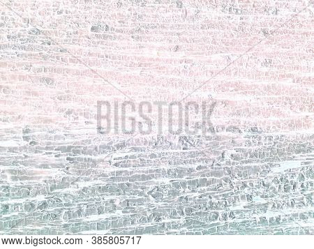 Colorful Background Texture Wood. Shabby Surface. Painted Tree. Grungy Dirty Illustration. White Dis