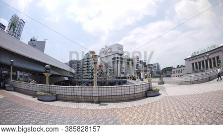 Tokyo, Japan, 1st Jan 2020,  Ueno Station Is A Major Railway Station In Tokyo Near National Museum,