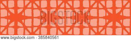 Japanese Tie Dye Seamless Pattern. Bohemian Kimono Textile. Retro Shibori Seamless Pattern. Soft Cur