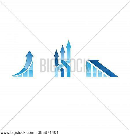 Analytics Logo Set Collection - Data Business Technology Finance Information Graph Chart Statistics