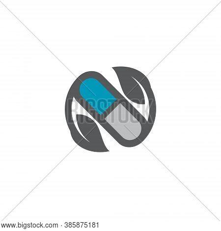Pharmacy Logo - Medicine Health Medical Drug Care Hospital Store Treatment Illness Pill Business Doc