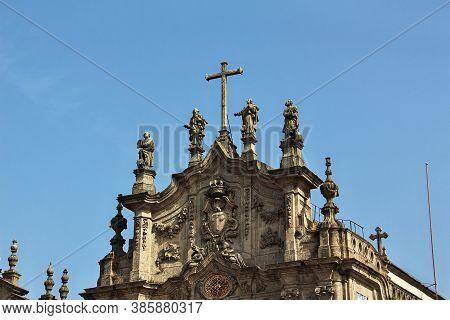 Igreja Do Carmo, The Vintage Church In Porto City, Portugal