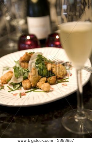 Fried Malpeque Oysters With Champagne