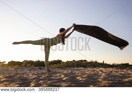Yoga Exercise, Yoga Pose, Yoga Asana And Meditation.