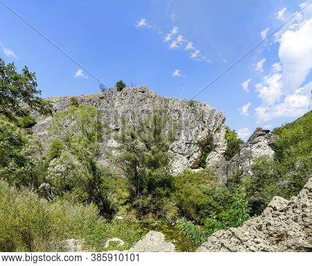 Natural Rock Phenomenon Elephant , Rhodope Mountain, Bulgaria.