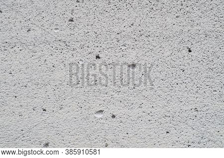 Light Concrete Wall Background. Empty Concrete Wall With Copy Space. Concrete Structure. Texture Of