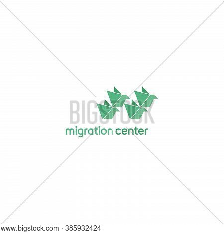 Template Logo Design For Migration Traning Center