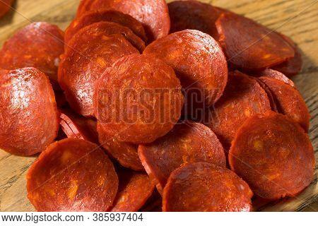 Organic Uncured Italian Pepperoni Slices