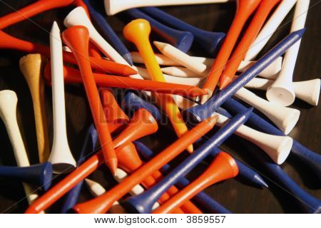 Assorted Golf Tees