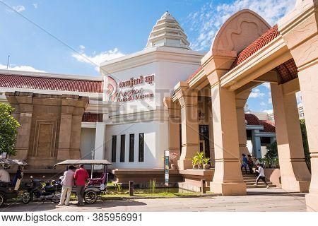Siem Reap, Cambodia : December-16-2018 : Angkor National Museum An Archaeological Museum Dedicated T