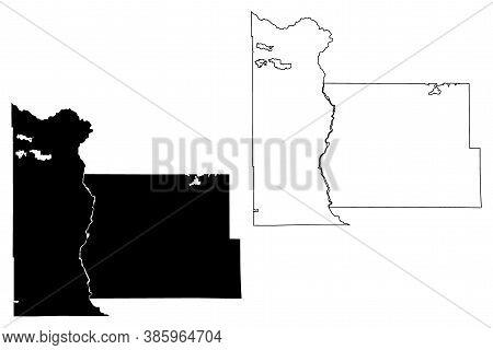Morrison County, Minnesota (u.s. County, United States Of America, Usa, U.s., Us) Map Vector Illustr