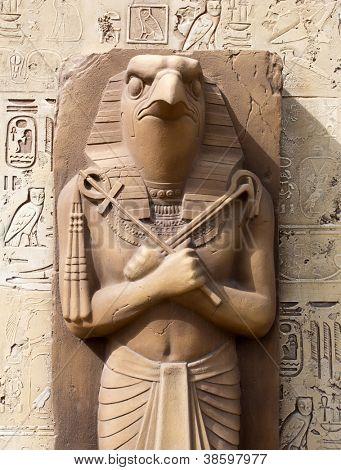 Statue of Ra - Sun God poster