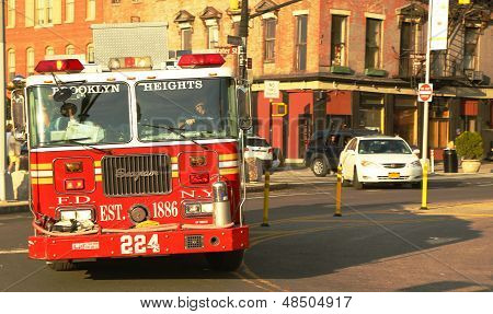 FDNY Engine 224 in Brooklyn