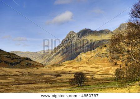 Langdale Pikes Landscape
