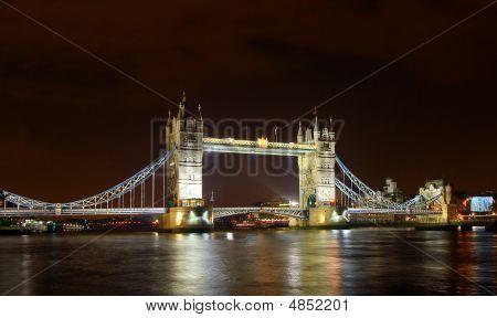London Tower Bridge At Night