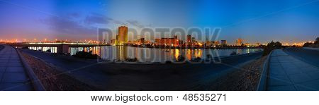 Jeddah downtown at dawn