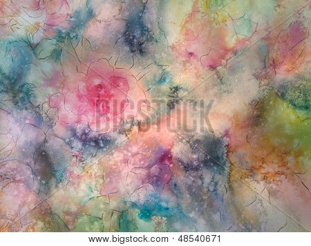 Softly Colored Floral