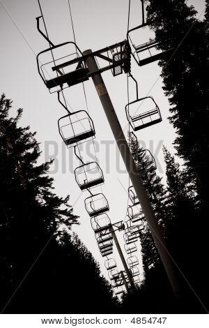 Ski Lift Chairs
