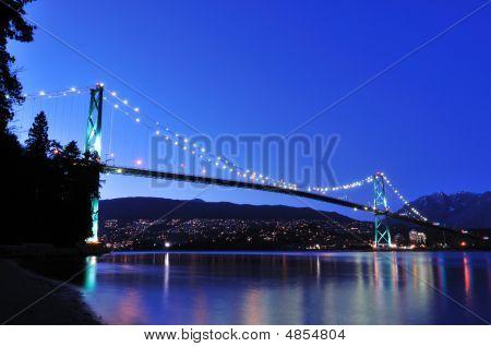 Lions Gate Bridge, Vancouver, Bc
