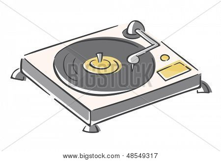 Sketchy Record Player