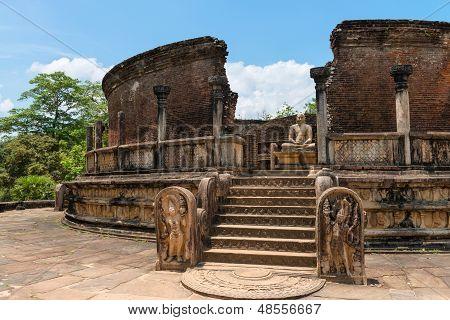 Structure Unique To Ancient Sri Lankan Architecture.