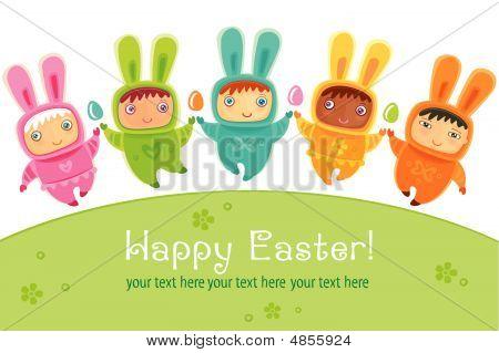 Easter Cute Little Babies