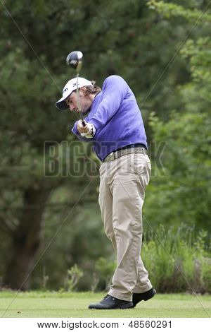 SAINT-OMER, FRANCE. 18-06-2010, Nicolas Meitinger (GER) on the second day of the European Tour, 14th Open de Saint-Omer, part of the Race to Dubai tournament and played at the AA Saint-Omer Golf Club