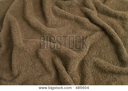 brown towel terry cloth. soft texture cloth. look at my gallery for more backgrounds and textures poster