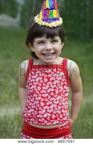 Birhtday Little Girl