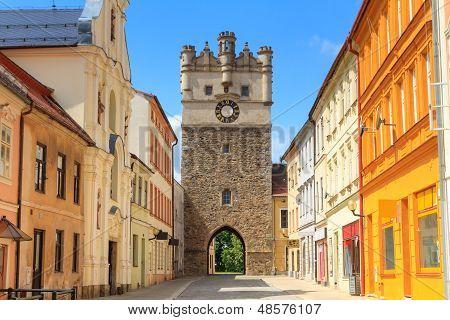 Jihlava (iglau) Old City Gate, Moravia, Czech Republic