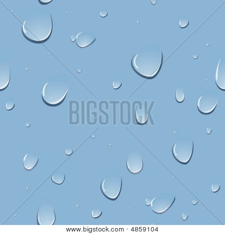 Seamless Water Drop Page
