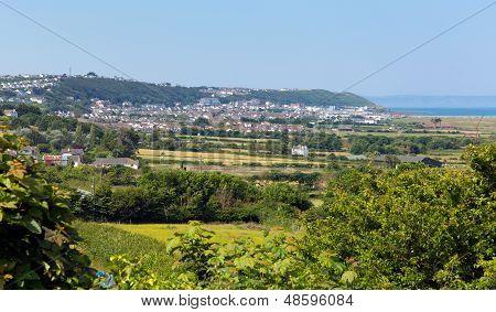 Westward Ho Devon England