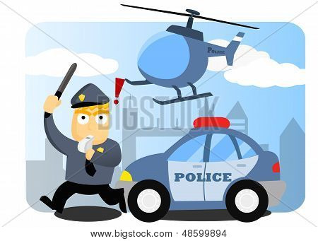 Police Chasing