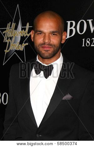 Amaury Nolasco at the 6th Annual Hollywood Domino Pre-Oscar Gala & Tournament, Sunset Tower, West Hollywood, C A 02-21-13
