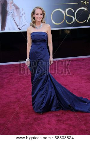Helen Hunt at the 85th Annual Academy Awards Arrivals, Dolby Theater, Hollywood, CA 02-24-13