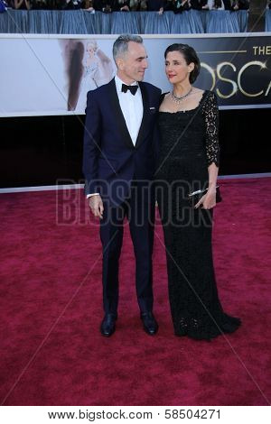 Daniel Day-Lewis at the 85th Annual Academy Awards Arrivals, Dolby Theater, Hollywood, CA 02-24-13