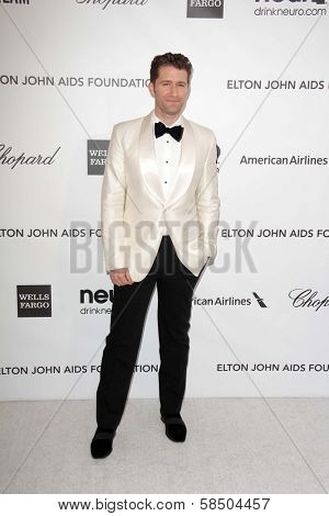 Matthew Morrison at the Elton John Aids Foundation 21st Academy Awards Viewing Party, West Hollywood Park, West Hollywood, CA 02-24-13