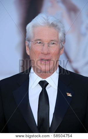 Richard Gere at the 85th Annual Academy Awards Arrivals, Dolby Theater, Hollywood, CA 02-24-13