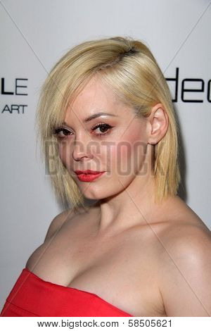 Rose McGowan at Harper's Bazaar Celebrates The Launch Of The Dukes of Melrose, Sunset Tower, West Hollywood, CA 02-28-13