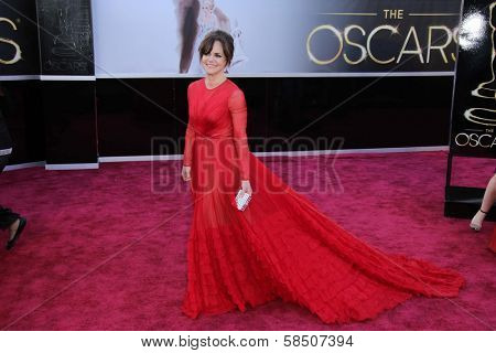 Sally Field at the 85th Annual Academy Awards Arrivals, Dolby Theater, Hollywood, CA 02-24-13