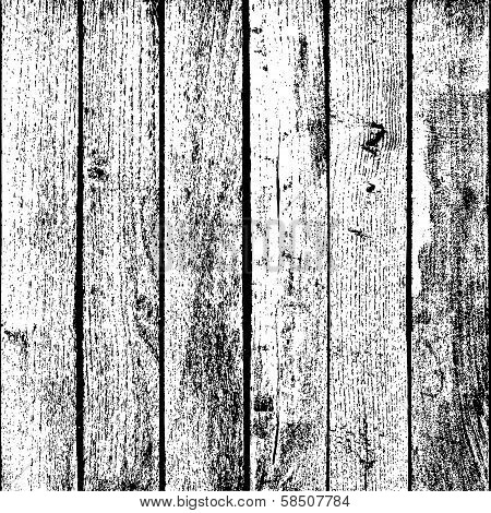 Square Wooden Planks