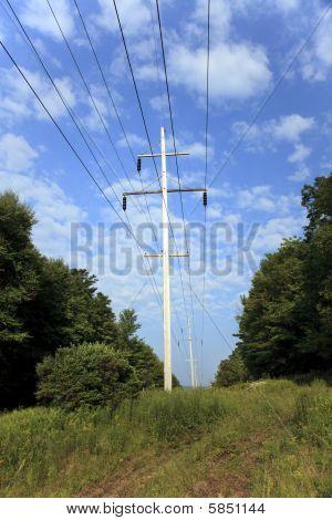 Power Line Poles