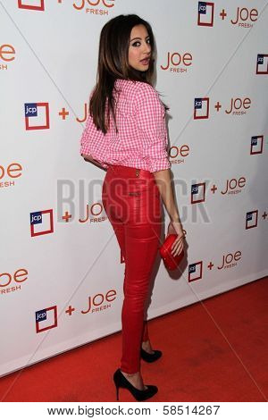 Noureen DeWulf at the introduction of Joe Fresh at JCP, Joe Fresh at JCP Pop Up Store, Los Angeles, CA 03-07-13