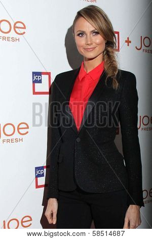Stacy Keibler at the introduction of Joe Fresh at JCP, Joe Fresh at JCP Pop Up Store, Los Angeles, CA 03-07-13