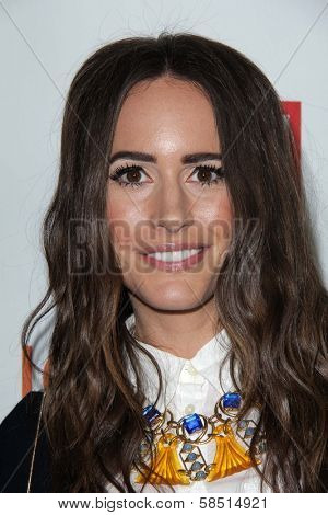 Louise Roe at the introduction of Joe Fresh at JCP, Joe Fresh at JCP Pop Up Store, Los Angeles, CA 03-07-13