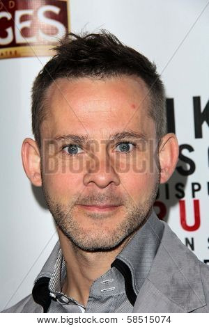 Dominic Monaghan at the Opening of